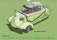 Made in Germany - Illustrationen deutscher Oldtimer (Wandkalender 2019 DIN A4 quer) - Produktdetailbild 2