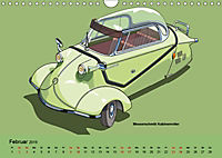Made in Germany - Illustrationen deutscher Oldtimer (Wandkalender 2019 DIN A4 quer) - Produktdetailbild 2