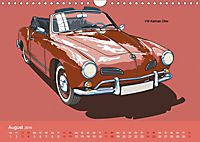 Made in Germany - Illustrationen deutscher Oldtimer (Wandkalender 2019 DIN A4 quer) - Produktdetailbild 8