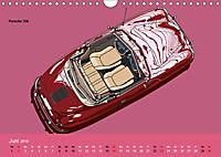 Made in Germany - Illustrationen deutscher Oldtimer (Wandkalender 2019 DIN A4 quer) - Produktdetailbild 6