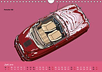 Made in Germany - Illustrationen deutscher Oldtimer (Wandkalender 2019 DIN A4 quer) - Produktdetailbild 6