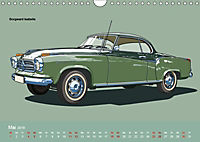 Made in Germany - Illustrationen deutscher Oldtimer (Wandkalender 2019 DIN A4 quer) - Produktdetailbild 5