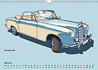 Made in Germany - Illustrationen deutscher Oldtimer (Wandkalender 2019 DIN A4 quer) - Produktdetailbild 7