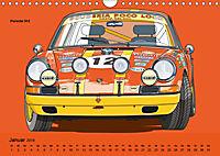 Made in Germany - Illustrationen deutscher Oldtimer (Wandkalender 2019 DIN A4 quer) - Produktdetailbild 1
