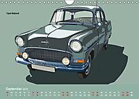 Made in Germany - Illustrationen deutscher Oldtimer (Wandkalender 2019 DIN A4 quer) - Produktdetailbild 9