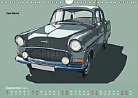 Made in Germany - Illustrationen deutscher Oldtimer (Wandkalender 2019 DIN A4 quer) - Produktdetailbild 9