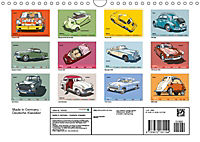 Made in Germany - Illustrationen deutscher Oldtimer (Wandkalender 2019 DIN A4 quer) - Produktdetailbild 13