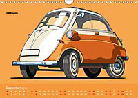 Made in Germany - Illustrationen deutscher Oldtimer (Wandkalender 2019 DIN A4 quer) - Produktdetailbild 12