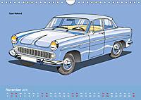Made in Germany - Illustrationen deutscher Oldtimer (Wandkalender 2019 DIN A4 quer) - Produktdetailbild 11