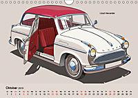 Made in Germany - Illustrationen deutscher Oldtimer (Wandkalender 2019 DIN A4 quer) - Produktdetailbild 10