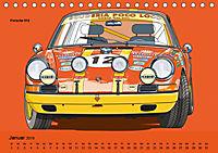 Made in Germany - Illustrationen deutscher Oldtimer (Tischkalender 2019 DIN A5 quer) - Produktdetailbild 1