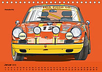 Made in Germany - Illustrationen deutscher Oldtimer (Tischkalender 2019 DIN A5 quer) - Produktdetailbild 1