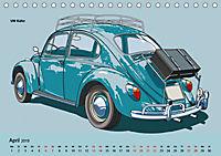 Made in Germany - Illustrationen deutscher Oldtimer (Tischkalender 2019 DIN A5 quer) - Produktdetailbild 4