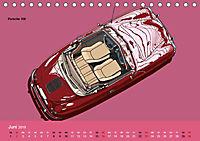 Made in Germany - Illustrationen deutscher Oldtimer (Tischkalender 2019 DIN A5 quer) - Produktdetailbild 6