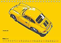 Made in Germany - Illustrationen deutscher Oldtimer (Tischkalender 2019 DIN A5 quer) - Produktdetailbild 3