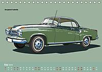 Made in Germany - Illustrationen deutscher Oldtimer (Tischkalender 2019 DIN A5 quer) - Produktdetailbild 5