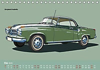 Made in Germany - Illustrationen deutscher Oldtimer (Tischkalender 2019 DIN A5 quer) - Produktdetailbild 5