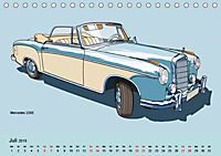 Made in Germany - Illustrationen deutscher Oldtimer (Tischkalender 2019 DIN A5 quer) - Produktdetailbild 7