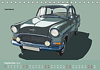 Made in Germany - Illustrationen deutscher Oldtimer (Tischkalender 2019 DIN A5 quer) - Produktdetailbild 9