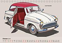 Made in Germany - Illustrationen deutscher Oldtimer (Tischkalender 2019 DIN A5 quer) - Produktdetailbild 10