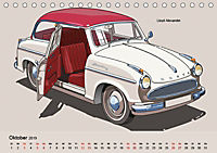 Made in Germany - Illustrationen deutscher Oldtimer (Tischkalender 2019 DIN A5 quer) - Produktdetailbild 10