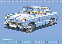 Made in Germany - Illustrationen deutscher Oldtimer (Tischkalender 2019 DIN A5 quer) - Produktdetailbild 11
