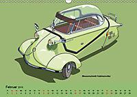 Made in Germany - Illustrationen deutscher Oldtimer (Wandkalender 2019 DIN A3 quer) - Produktdetailbild 2
