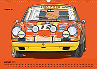 Made in Germany - Illustrationen deutscher Oldtimer (Wandkalender 2019 DIN A3 quer) - Produktdetailbild 1