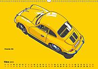 Made in Germany - Illustrationen deutscher Oldtimer (Wandkalender 2019 DIN A3 quer) - Produktdetailbild 3