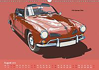 Made in Germany - Illustrationen deutscher Oldtimer (Wandkalender 2019 DIN A3 quer) - Produktdetailbild 8