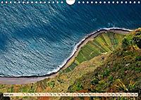 Madeira - blaues Wasser, grüne Berge, bunte Blumen (Wandkalender 2019 DIN A4 quer) - Produktdetailbild 2