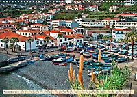 Madeira - blaues Wasser, grüne Berge, bunte Blumen (Wandkalender 2019 DIN A3 quer) - Produktdetailbild 8