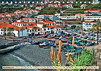 Madeira - blaues Wasser, grüne Berge, bunte Blumen (Tischkalender 2019 DIN A5 quer) - Produktdetailbild 11