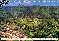 Madeira - blaues Wasser, grüne Berge, bunte Blumen (Tischkalender 2019 DIN A5 quer) - Produktdetailbild 1