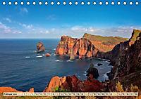 Madeira - blaues Wasser, grüne Berge, bunte Blumen (Tischkalender 2019 DIN A5 quer) - Produktdetailbild 2