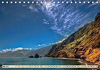 Madeira - blaues Wasser, grüne Berge, bunte Blumen (Tischkalender 2019 DIN A5 quer) - Produktdetailbild 5