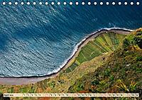 Madeira - blaues Wasser, grüne Berge, bunte Blumen (Tischkalender 2019 DIN A5 quer) - Produktdetailbild 4