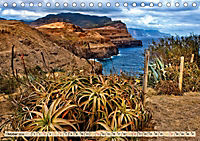 Madeira - blaues Wasser, grüne Berge, bunte Blumen (Tischkalender 2019 DIN A5 quer) - Produktdetailbild 10