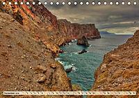 Madeira - blaues Wasser, grüne Berge, bunte Blumen (Tischkalender 2019 DIN A5 quer) - Produktdetailbild 12