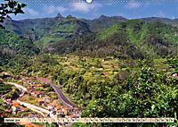 Madeira - blaues Wasser, grüne Berge, bunte Blumen (Wandkalender 2019 DIN A2 quer) - Produktdetailbild 1