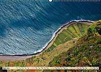 Madeira - blaues Wasser, grüne Berge, bunte Blumen (Wandkalender 2019 DIN A2 quer) - Produktdetailbild 4