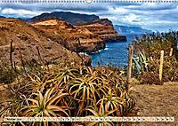 Madeira - blaues Wasser, grüne Berge, bunte Blumen (Wandkalender 2019 DIN A2 quer) - Produktdetailbild 10