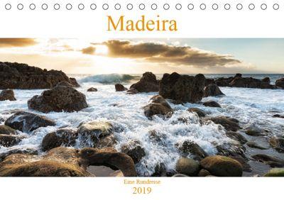 Madeira - eine Rundreise (Tischkalender 2019 DIN A5 quer), Nordbilder