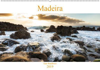 Madeira - eine Rundreise (Wandkalender 2019 DIN A2 quer), Nordbilder