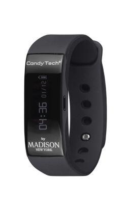 MADISON NEW YORK - Fitness Armbanduhr GoTime schwarz