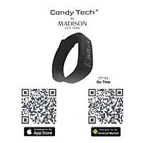"MADISON NEW YORK - Fitness Armbanduhr ""GoTime"" schwarz - Produktdetailbild 3"