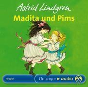 Madita und Pims, 1 Audio-CD, Astrid Lindgren
