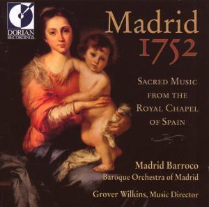 Madrid 1752, Baroque Orchestra Of Madrid, Matthews, Cam