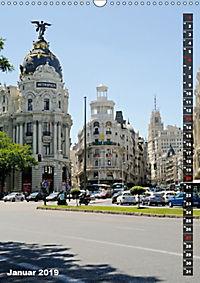 Madrid (Wandkalender 2019 DIN A3 hoch) - Produktdetailbild 1