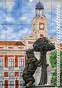 Madrid (Wandkalender 2019 DIN A3 hoch) - Produktdetailbild 12